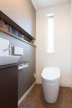 岐南町徳田モデル トイレ