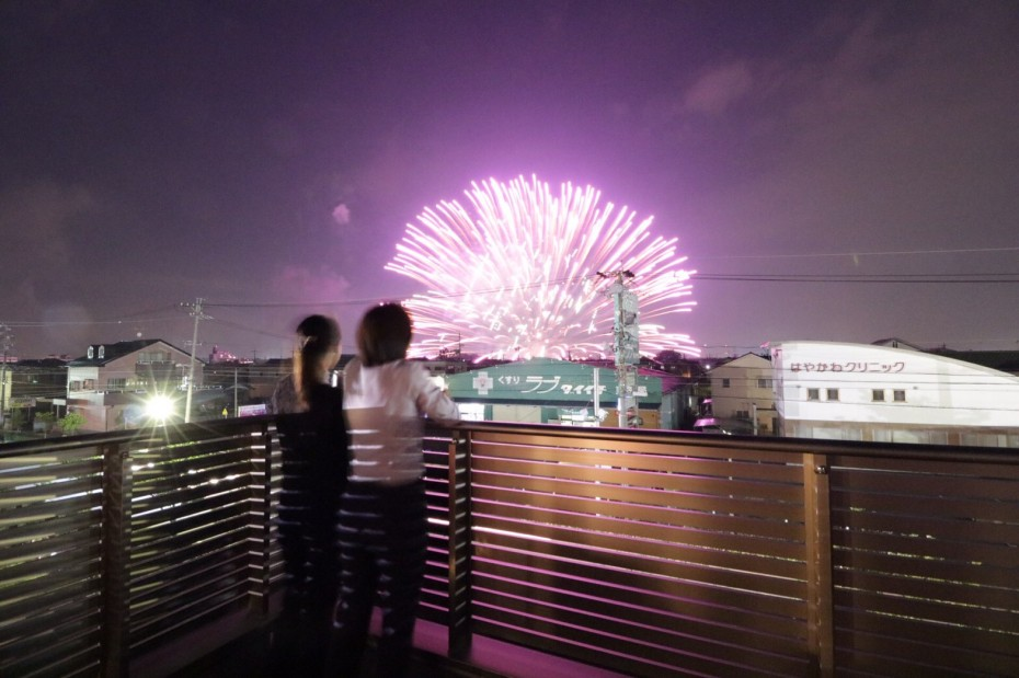 大垣の花火