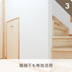 階段下も有効活用